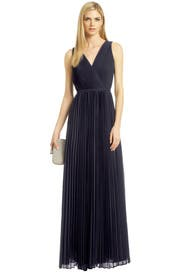 Paparazzi Pleat Gown by Halston Heritage