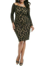 Little Lace Secrets Dress by Carmen Marc Valvo
