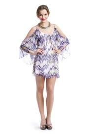 Shoulder Peep Dress by Parker