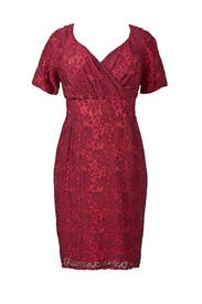 Berry Melina Dress by Igigi