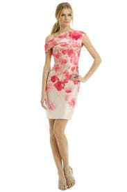 Rose Water Scent Dress by Lela Rose