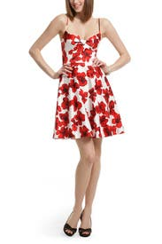 Tip Toe Through the Tulips Dress by Milly