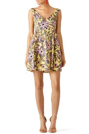 Passion Flower Print Dress by RED Valentino
