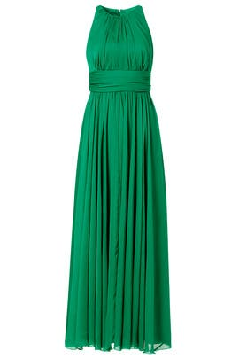 Badgley Mischka - Fluorite Emerald Gala Gown