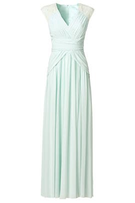 Mint Dream Gown by Badgley Mischka