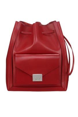 Vachetta Lock Drawstring Bag by Loeffler Randall