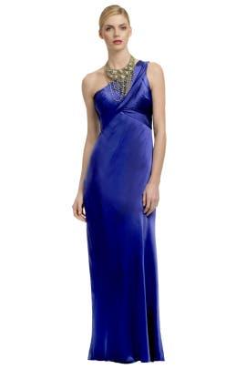 Carlos Miele - Crystal Blue Waters Gown
