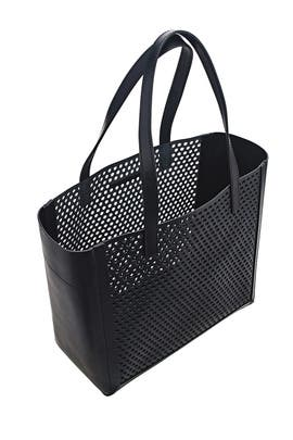 Perforated Open Tote by Loeffler Randall