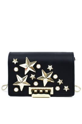 Star Earthette Shoulder Bag by ZAC Zac Posen Handbags