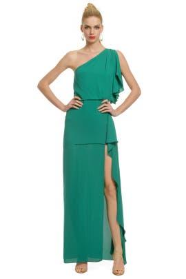 BCBGMAXAZRIA - Salsa Verde Gown