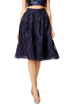 Starry Evening Skirt by Badgley Mischka