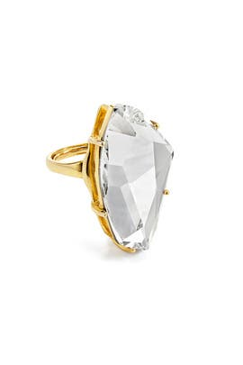 Kenneth Jay Lane - Polished Crystal Ring