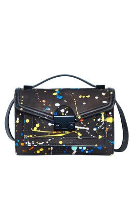 Splatter Paint Mini Rider Bag by Loeffler Randall
