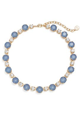 Blue Dot Necklace by RJ Graziano