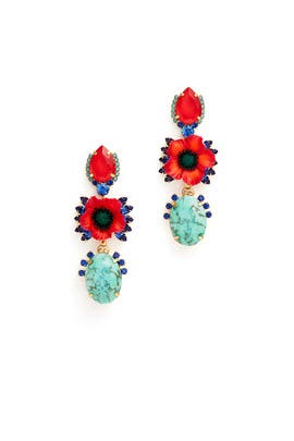 Zula Earrings by Elizabeth Cole