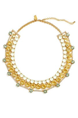 Mint Carnival Crystal Statement Necklace by kate spade new york accessories