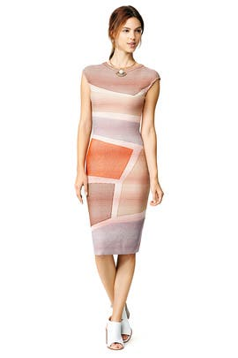 Pink Block Sheath by Missoni