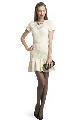 Opening Ceremony - Ivory Glam Dress