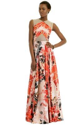 Bibhu Mohapatra - Earthquake Gown