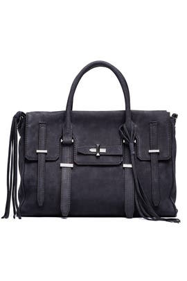 Navy Jules Satchel by Rebecca Minkoff Handbags