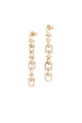 Fame Link Earrings by Eddie Borgo