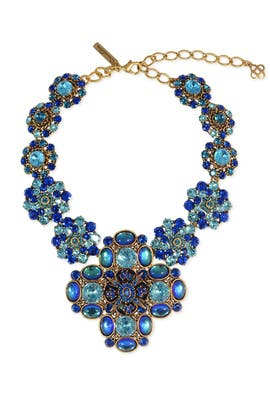Karenina Statement Necklace by Oscar de la Renta
