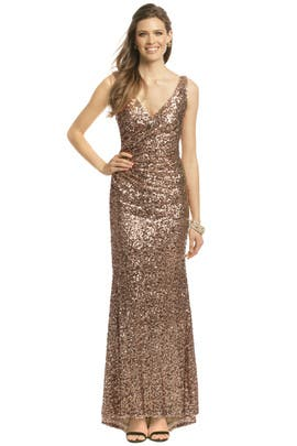 Crystal Pop Gown by Mark & James by Badgley Mischka