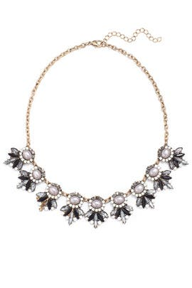 Midnight Pearl Necklace by Slate & Willow Accessories