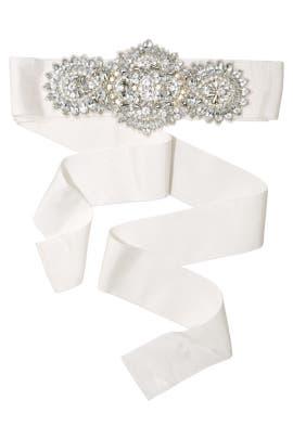 Badgley Mischka Jewelry - Say I Do Belt