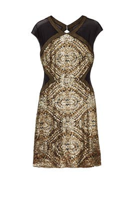 Badgley Mischka - Eyes of Gold Dress