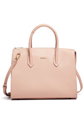 Moonstone Pin M Satchel by Furla