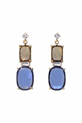 Delicate Azure Drop Earring by Gerard Yosca