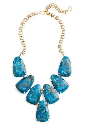 Aqua Harlow Necklace by Kendra Scott