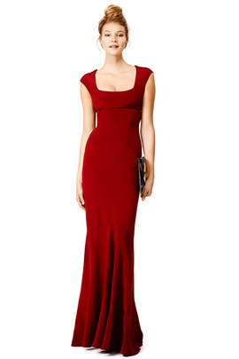 Red Velma Gown by Narciso Rodriguez