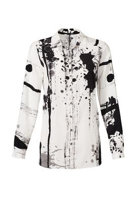 Dazzler Paint Splatter Shirt by Yoana Baraschi