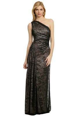 David Meister - Night in Barcelona Gown