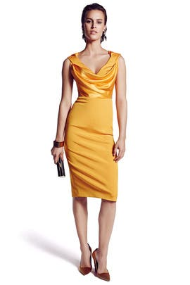 Golden Key Sheath by Cushnie Et Ochs