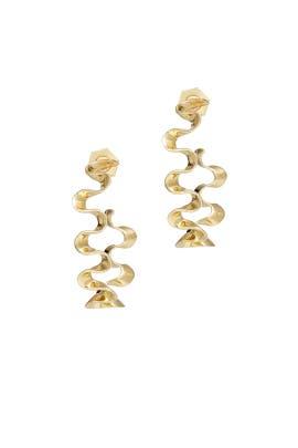 Swirl Hoop Earrings by Sarah Magid
