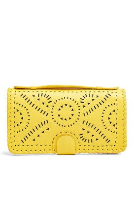 Saffron Mexicana Clutch by Cleobella Handbags