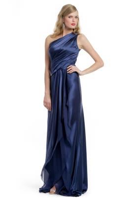 Carmen Marc Valvo - Precious Sapphire Gown