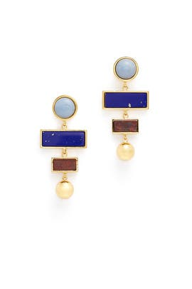 Angelite Agnes Earrings by Lizzie Fortunato