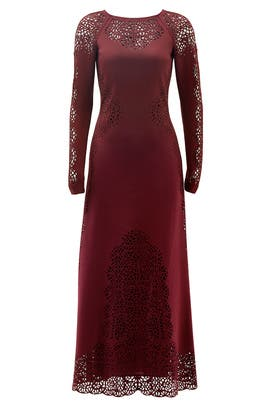 Plum Sami Dress by Temperley London