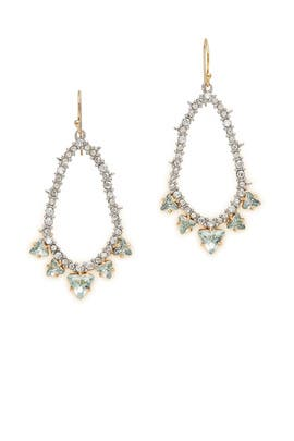 Spike Accented Pave Tear Earring by Alexis Bittar