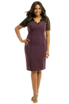 Igigi - Denise Plum Sheath