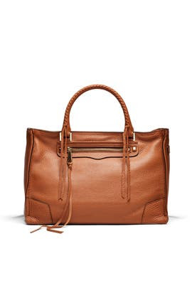 Almond Regan Satchel by Rebecca Minkoff Handbags