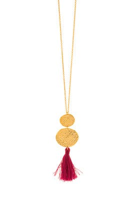 Phoenix Berry Pendant Necklace by Gorjana Accessories
