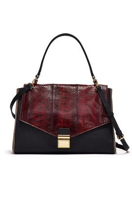Mindy Snake Handbag by Badgley Mischka Handbags