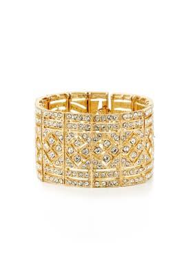 Cara Accessories - Gold Dress Me Up Bracelet