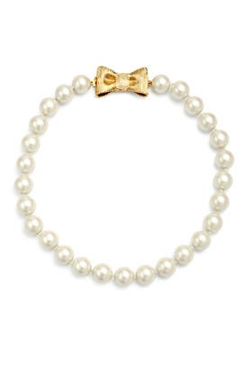 Put a Bow On It Necklace by kate spade new york accessories