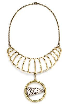 Anndra Neen - Crescent Shell Necklace
